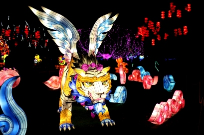 The Giant Lanterns of China Edinburgh Zoo (17)