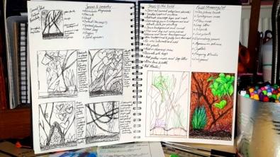 Sketchbook (Mantis Enclosure)
